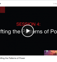 SESSION 4: Shifting the Patterns of Power